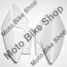 MBS Laterale spate Honda CRF450X 2005-10, alb, Cod Produs: HO04601041 - Carene moto