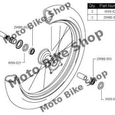 MBS Kit rulmenti+semeringuri roata fata RMZ250 '07-'09/RMZ450 '05-'09, Cod Produs: PWFWKS16400VP - Kit rulmenti roata fata Moto