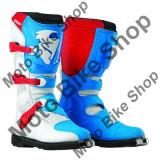 MBS Cizme motocross Thor S5 Blitz, rosu/albastru, 47, Cod Produs: 34101474PE