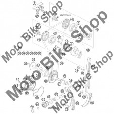 MBS Semering 12X30X7 pompa apa KTM 250 EXC-F CHAMPION EDIT. 2010 #38, Cod Produs: 0760123073KT - Simering pompa apa Moto