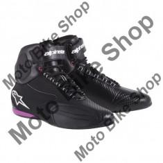 MBS Ghete moto fete Alpinestars Faster, negru-roz, 6.5=38, Cod Produs: 251041413965AU - Cizme barbati
