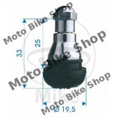 MBS Valva cauciuc TR412, cromat max 4, 5 bar, Cod Produs: 5192778MA