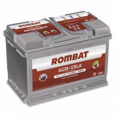 Rombat AGM VRLA 12 V - 70 Ah, 760 A, start/ stop - Baterie auto