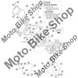 MBS Siguranta vizor nivel ulei KTM 250 EXC-F Champion Edit. 2010 #21, Cod Produs: 61030019050KT