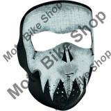 MBS Cagula fosforescenta SKULL Face, ZAN HEADGEAR, Cod Produs: 25030208PE
