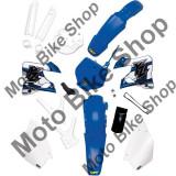 MBS Aripa spate cu stop UFO, albastru, Yamaha WR 250 2011-2014, Cod Produs: 14030373PE
