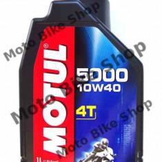 MBS Ulei Motul 5000 4T 10W40 1L, Cod Produs: 104054 - Ulei motor Moto