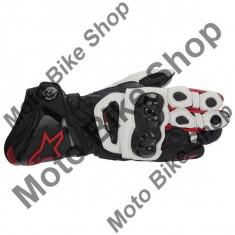 MBS Manusi piele Alpinestars GP Pro, negru-alb-rot, 2XL/12, Cod Produs: 35567131232XLAU