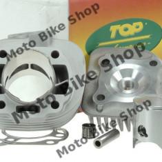 MBS Set motor+chiuloasa, nicasil, Minarelli AC orizontal D.47, 6 TOP, Cod Produs: 9921630 - Motor complet Moto