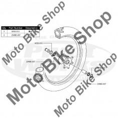 MBS Kit rulmenti+semeringuri roata fata Suzuki RM 125 2001-2007, Cod Produs: PWFWKS07021VP - Kit rulmenti roata fata Moto