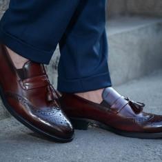 Pantofi Exclusive Loafer COD: TOP-3. NEW COLLECTION - Pantofi barbat, Marime: 39, 41, 42, 43, 44, Culoare: Din imagine, Piele naturala