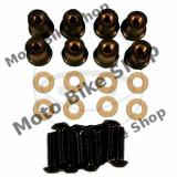 MBS Set suruburi parbriz M5X16 negre, Cod Produs: 7751969MA