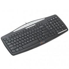 TASTATURA NJOY SMK210 USB SLIM, Cu fir