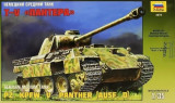 + Macheta 1/35 Zvezda 3678 - Pz.Kpfw.V Panther Ausf.D +