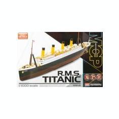 Kit constructie RMS Titanic scara 1/1000 colorat - Jocuri Seturi constructie