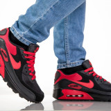 Adidasi Nike AIR MAX AIRMAX 90 Black Fire Red. NEW COLLECTION - Adidasi barbati, Marime: 39, 43, Culoare: Din imagine