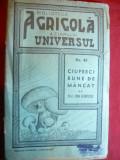 I.Grintescu- Ciuperci bune de mancat -Ed.1944 Ziarul Universul Bibl.Agricola 45