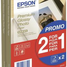 Hartie foto Epson 10x15 255g, Premium Glossy, 80 coli