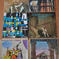 Lot 10 Discuri Vinil Muzica Opera. Disc Vinyl de colectie!
