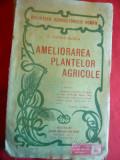 C.Sandu-Aldea - Ameliorarea Plantelor Agricole-interbelica- Colectia Bibl.Agric.