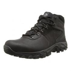 Ghete de iarna pentru barbati Columbia Newton Ridge Plus II Waterproof Black (CLM-1594731-BLK) - Ghete barbati Columbia, Marime: 40, 42, 44, 45, Culoare: Negru