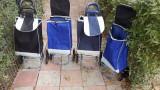 Carucior Troller cu 3 roti pentru cumparaturi piata 20 LITRI
