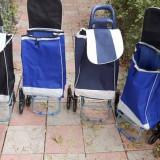 Carucior Troller cu 3 roti pentru cumparaturi piata 20 LITRI - Carucior cumparaturi