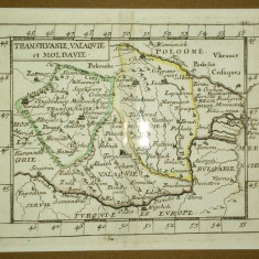 Transilvanie, Valachie et Moldavie - Harta Romaniei