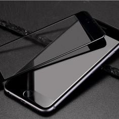 Folie Hoco STICLA SECURIZATA 0.15, iPHONE 6 PLUS/6S PLUS, margine siliconica NEGRU - Folie de protectie