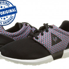 Adidasi dama Le Coq Sportif Dynacomf Geo Jacquard - adidasi originali - panza