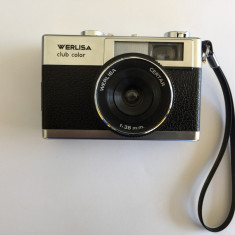 Aparat foto cu film vintage Certex Werlisa Club color 38mm 1976 (615)