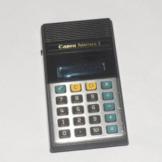 Calculator retro de colectie Canon Palmtronic 8M display fluorescent - Calculator Birou