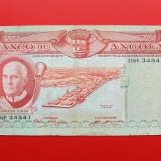 ANGOLA - 500 Escudos 1970 - bancnota africa