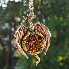 Pandantiv talisman Dragon de pământ - Pandantiv fashion