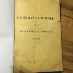 Monografia Clisurei de Alexandru Moisi 1938-reconditionata - Carte Monografie