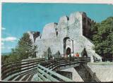 Bnk cp Targu Neamt - Cetatea Neamtului - circulata - marca fixa, Printata