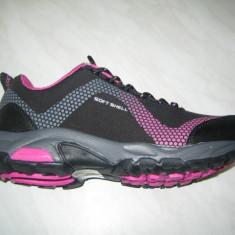 Pantofi sport impermeabil femeie WINK;cod LF6400-4;marime:36-41 - Adidasi dama Wink, Culoare: Negru, Marime: 37, 39, Piele sintetica