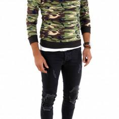 Bluza fashion army tip ZARA - bluza barbati - 7271, Marime: S, Culoare: Din imagine