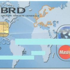 Card bancar MasterCard BRD
