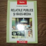 Relatiile publice si mass-media de Cristina Coman, Polirom