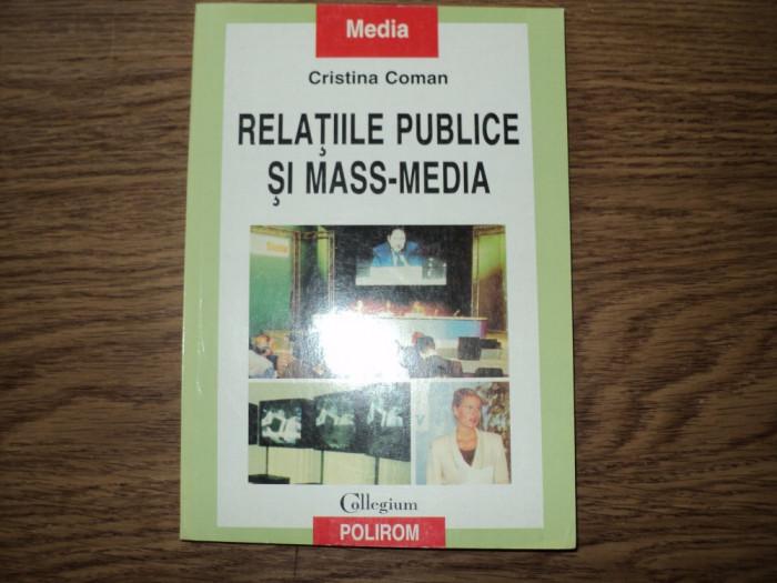 Relatiile publice si mass-media de Cristina Coman