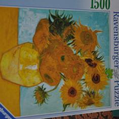 Puzzle Alex Toys Ravensburger 1500 de piese - Van Gogh - Floarea soarelui