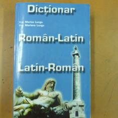 Roman - latin latin - roman dictionar M. Lungu
