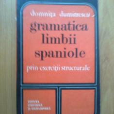 E3 Gramatica limbii spaniole prin exercitii structurale- Domnita Dumitrescu - Curs Limba Spaniola
