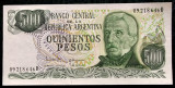 Argentina 500 Pesos (1977 - 1982) P#303 UNC necirculata **