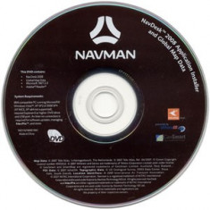 GPS-DVD instalare Navman S series (2008) Backup DVD - Software GPS