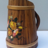 Vas decorativ din lemn ER150