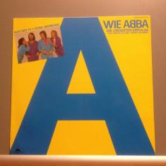 ABBA - THE BEST OF (1980/POLYDOR REC/RFG) - Vinil/POP/Impecabil(NM) - Muzica Pop universal records