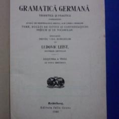 Gramatica germana teoretica si practica 1940 / C64P - Curs Limba Germana