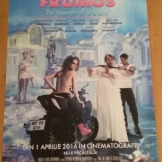 Afis / poster cinema Minte-ma frumos in centrul vechi original / by WADDER